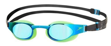 Очки для плавания Speedo Elite Goggles Mirror AU Green/Blue
