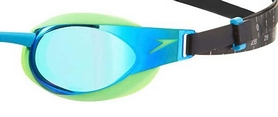 Фото 2 к товару Очки для плавания Speedo Elite Goggles Mirror AU Green/Blue