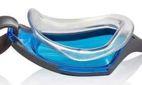 Фото 2 к товару Очки для плавания Speedo Aquapulse Max 2 Goggles Au Silver/Blue