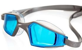 Фото 3 к товару Очки для плавания Speedo Aquapulse Max 2 Goggles Au Silver/Blue