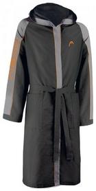 Халат для бассейна Head Microfiber женский (черно-серый)