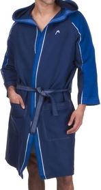 Фото 2 к товару Халат для бассейна Head Microfiber мужской (синий)