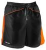 Шорты для плавания Head Watershorts Man 45 см мужские (черно-оранжевые) - фото 1