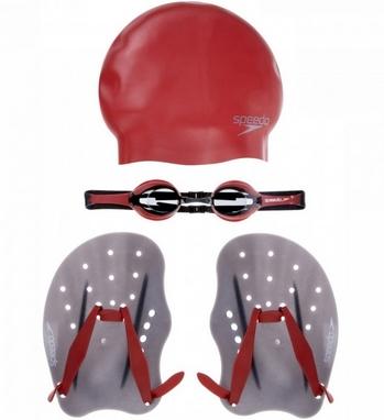 Набор для плавания Speedo Performance Training Pack AU Red