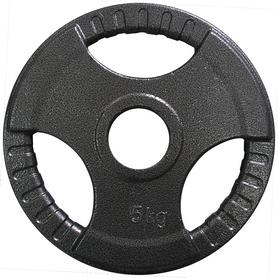 Фото 1 к товару Диск олимпийский 5 кг Newt с хватами - 51 мм