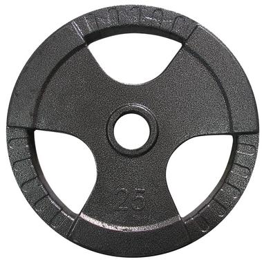 Диск олимпийский 25 кг Newt с хватами - 51 мм