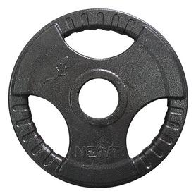 Фото 2 к товару Диск олимпийский 5 кг Newt с хватами - 51 мм