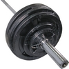 Штанга олимпийская Newt 100 кг - гриф 2,2 м - фото 2