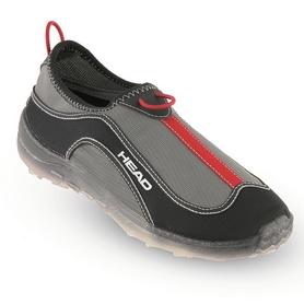 Тапочки для бассейна Head Aquatrainer черно-красные
