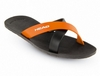 Тапочки для бассейна Head Prize черно-оранжевые - фото 1