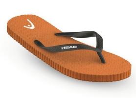 Фото 1 к товару Тапочки для бассейна Head FUN черно-оранжевые