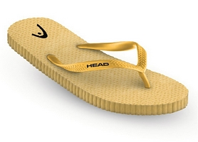 Тапочки для бассейна Head FUN желтые