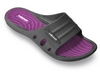 Тапочки для бассейна женские Head Loop черно-фиолетовые - фото 1
