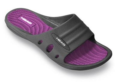 Тапочки для бассейна женские Head Loop черно-фиолетовые