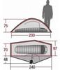 Палатка одноместная Wechsel Pathfinder 1 Zero-G Line - фото 5