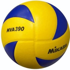 Фото 1 к товару Мяч волейбольный Mikasa MVA390 (Оригинал)