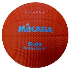 Фото 1 к товару Мяч баскетбольный детский Mikasa SB512-BR №5 (Оригинал)