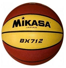 Фото 1 к товару Мяч баскетбольный Mikasa BX712 №7 (Оригинал)