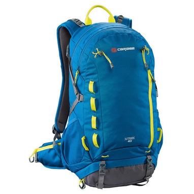 Рюкзак спортивный Caribee X-Trek 40 Sirius Blue/Hyper Yellow