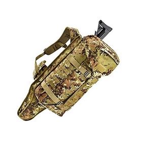 Фото 2 к товару Рюкзак тактический Defcon 5 Battle Gun Holster 45 камуфляж Vegetato Italiano