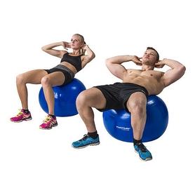 Фото 6 к товару Мяч для фитнеса (фитбол) Tunturi Gymball 55 см, синий