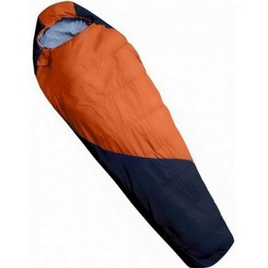 Мешок спальный (спальник) Tramp Mersey оранжевый/серый левый