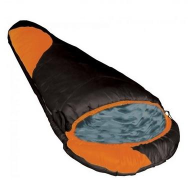 Мешок спальный (спальник) Tramp Winnipeg оранжевый/серый левый