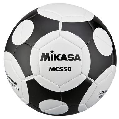 Мяч футбольный Mikasa MCS50-WBK