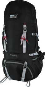 Рюкзак туристический High Peak Sherpa 55+10 черный