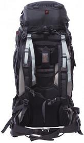 Фото 2 к товару Рюкзак туристический High Peak Sherpa 55+10 черный