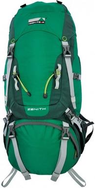 Рюкзак трекинговый High Peak Zenith 75+10 зеленый