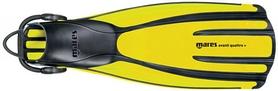 Ласты Mares Avanti Quattro + желтые