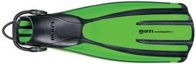 Ласты Mares Avanti Quattro + зеленые