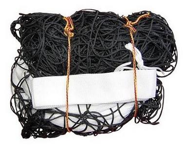 Сетка для волейбола Netex с тросом и антеннами IV (черная)