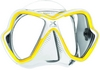 Маска Mares X-VISION 14 жёлто-белая - фото 1