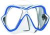 Маска для дайвинга Mares X-Vision 14 сине-белая - фото 1