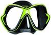 Маска Mares X-VISION 14 чёрно-зелёная - фото 1