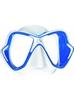 Маска для дайвинга Mares X-Vision Liquidskin 13 бело-синяя - фото 1