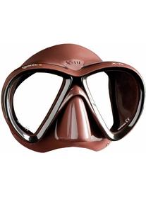 Маска для дайвинга Mares X-VU SF коричневая