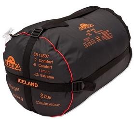 Фото 5 к товару Мешок спальный (спальник) для треккинга Alexika Iceland - left
