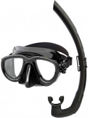 Набор детский для плаванья/дайвинга Mares Tana (маска + трубка) черный