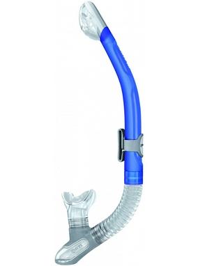 Трубка для плавания Mares Ergo Dry синяя
