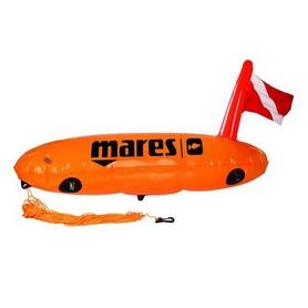 Фото 1 к товару Буй Mares Torpedo с держателями снаряжения.