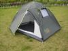 Палатка двухместная GreenCamp 1001-A серая - фото 1