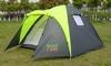 Палатка трехместная GreenCamp 1011 - фото 1