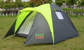 Фото 1 к товару Палатка трехместная GreenCamp 1011