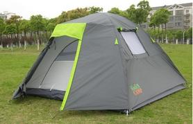 Фото 1 к товару Палатка четырехместная GreenCamp 1013-4