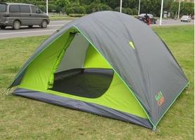 Фото 1 к товару Палатка четырехместная GreenCamp 1018-4