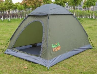 Палатка двухместная GreenCamp 1503