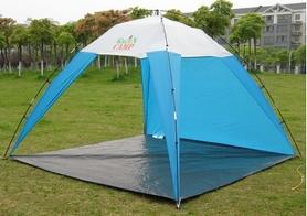 Тент двухместный пляжный GreenCamp 1045(1038)